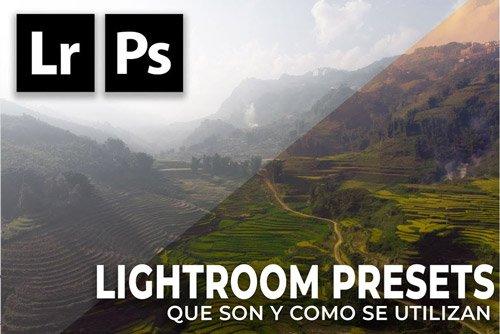como usar presets en lightroom